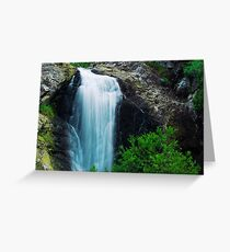 Cedar Creek Falls Greeting Card