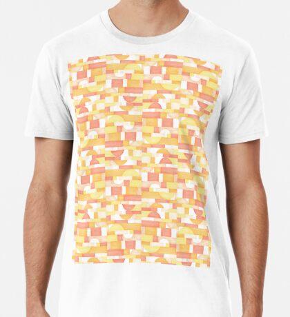 Orangeometries #redbubble #pattern Premium T-Shirt