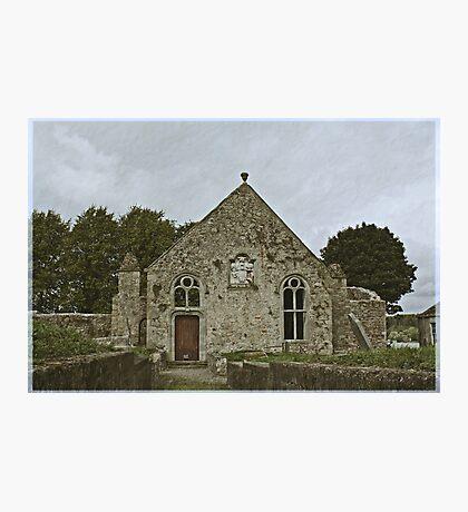 Old Church at Ballinamore Photographic Print