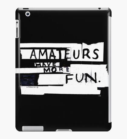 AMATEURS iPad Case/Skin