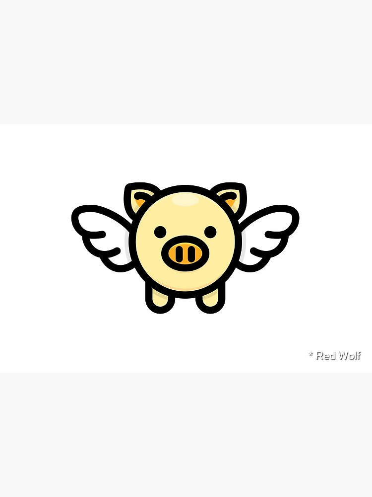 When Pigs Fly: Yellow by redwolfoz