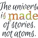 the universe is made of stories by bernArt