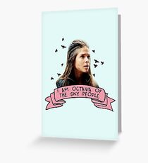 Octavia of the Sky People Greeting Card