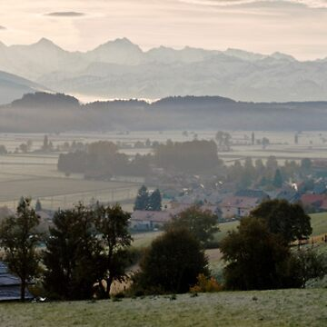 Frosty Morning in the Bernese Oberland by mhowellsmead