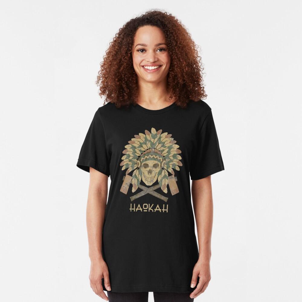 Haokah Empath Native American Sacred Clown Slim Fit T-Shirt