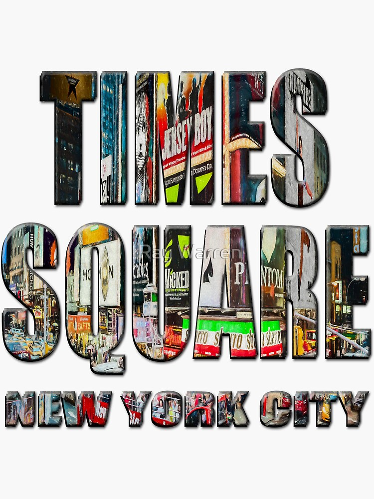 Times Square II (digitally repainted) by RayW