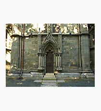 A door - Nidaros Cathadral Photographic Print