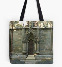 A door - Nidaros Cathadral Tote Bag