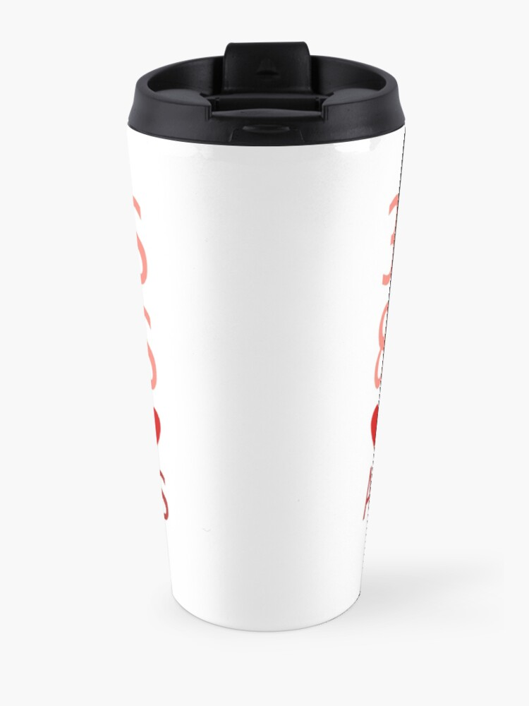 Alternate view of 3 Words, 8 Letters, Say It And I'm Yours Travel Mug