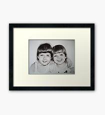 Little Angels Framed Print