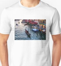 Impressions Of Venice - a Classic Grand Canal Evening T-Shirt