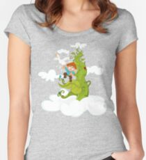 Jack and the Beanstalk Fitted Scoop T-Shirt