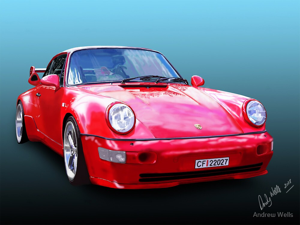 Porche by Andrew Wells