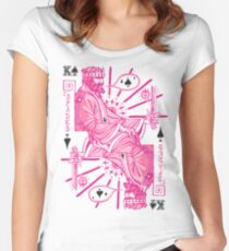 King Of Spades Women's Fitted Scoop T-Shirt