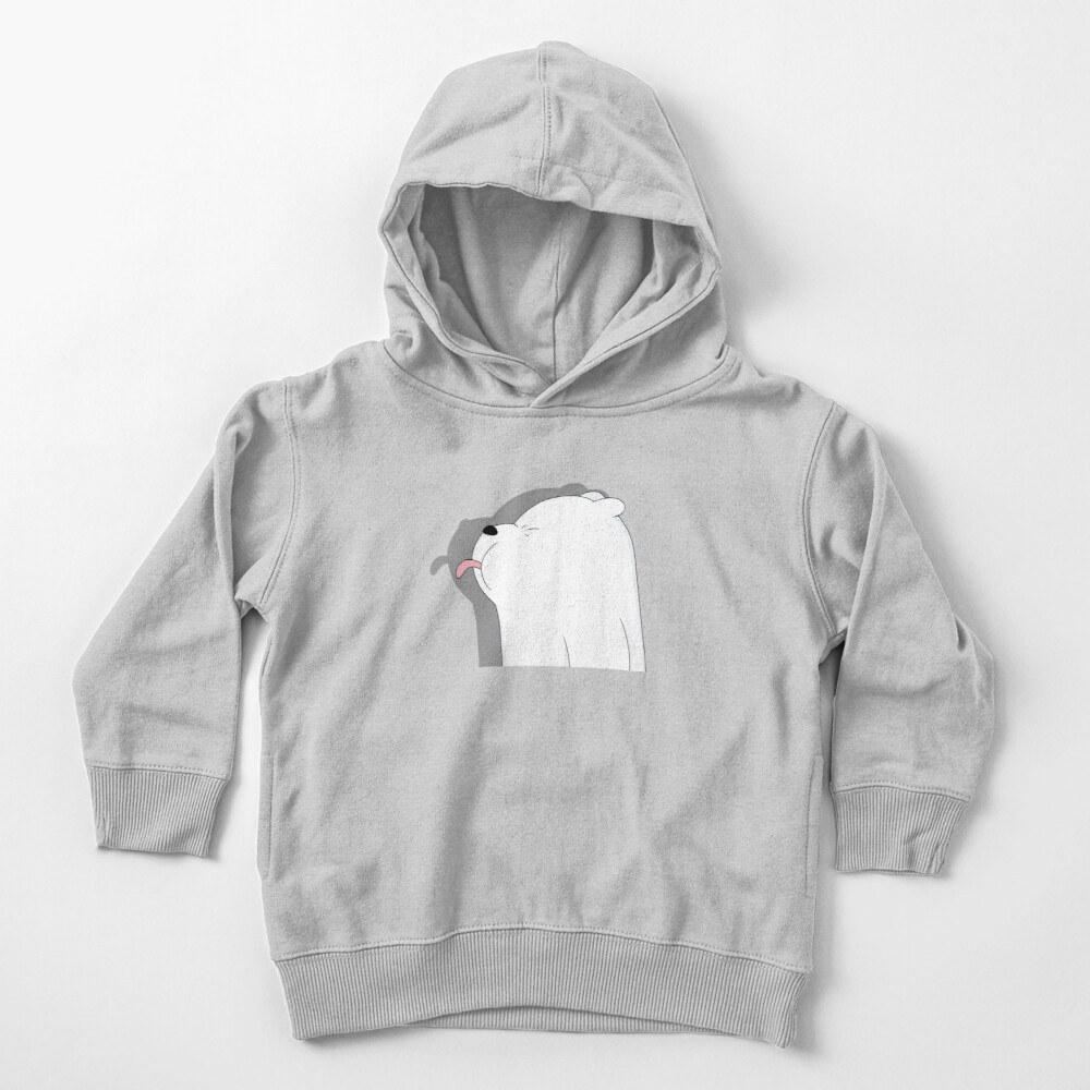 We Bare Bears - Ice Bear Toddler Pullover Hoodie
