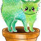 watercolor cacto (cactus cat) by FandomizedRose