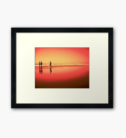 Summer Days in Puerto Framed Print