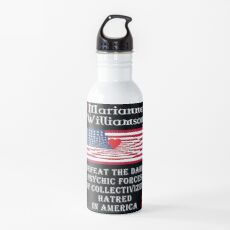 Marianne Williamson Harness Love Card Water Bottle