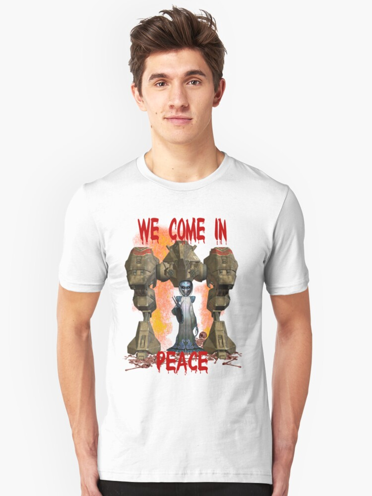 In Peace We Conquer  Unisex T-Shirt Front