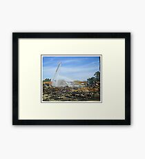 From Dark Places Framed Print