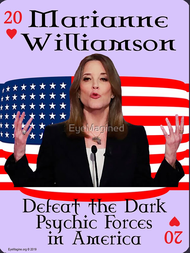 Marianne Williamson Card by EyeMagined