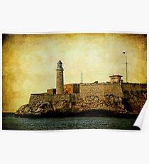 El Morro lighthouse, Havana, Cuba  Poster