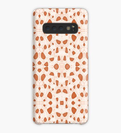 Moroccan Clay Zellige #redbubble #pattern Case/Skin for Samsung Galaxy