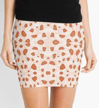 Moroccan Clay Zellige #redbubble #pattern Mini Skirt