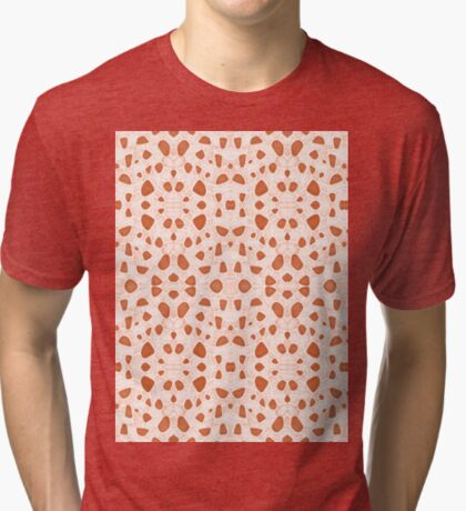 Moroccan Clay Zellige #redbubble #pattern Tri-blend T-Shirt