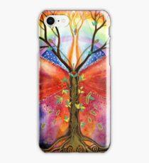 Mandala dragon-fly iPhone Case/Skin