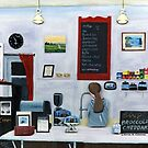 Evening Cafe - Closing Time by Kevin Cameron
