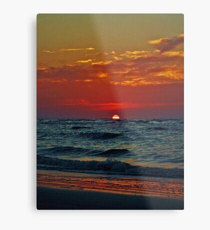 Summer Sunrise Metal Print