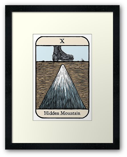 The Hidden Mountain by Ellis Nadler