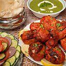 Authentic Tandoori Chicken by John Hooton