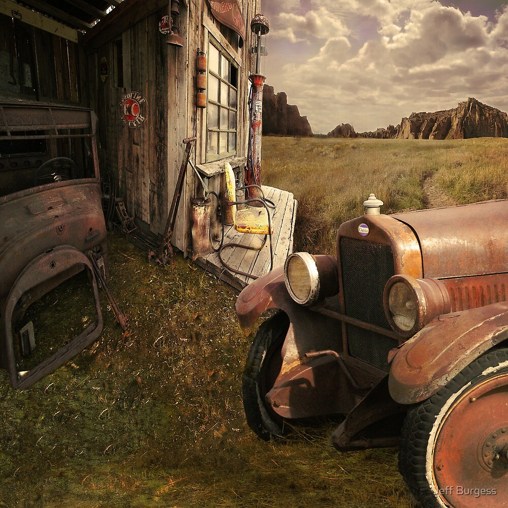 Gas for Sale by Jeff Burgess