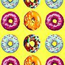 Donuts bei Sonnenschein von Yamy Morrell  Art and Design