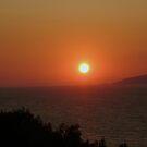 Aegean sunset by karenkirkham