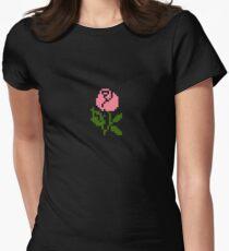 Li'l Roses: Pink Women's Fitted T-Shirt
