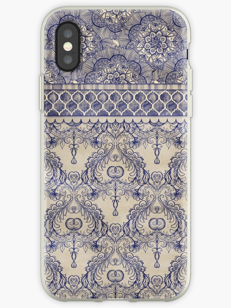 Vintage Wallpaper Iphone Case By Micklyn