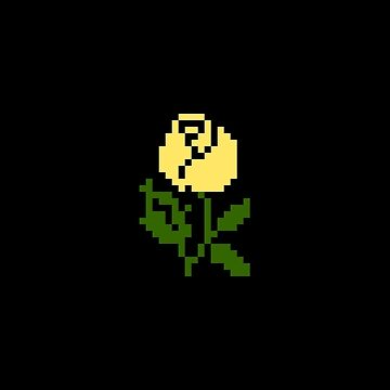 Li'l Roses: Yellow by MelancholyChild
