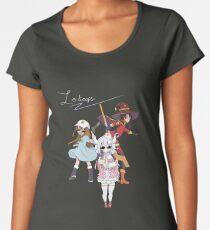 Lolicop Trio Premium Scoop T-Shirt