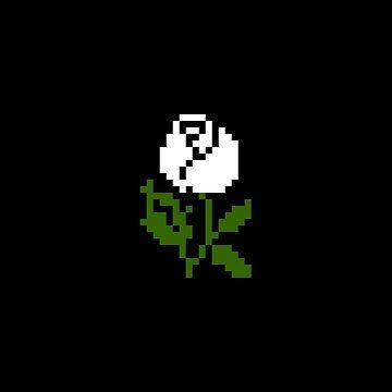 Li'l Roses: White by MelancholyChild