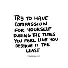 Find Compassion by howamifeeling