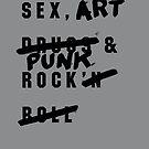 SEX, ART & PUNK ROCK by Steve Leadbeater