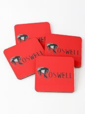 Roswell Abstract Coasters