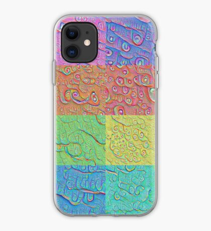 Deep Dreaming of a Color World iPhone Case