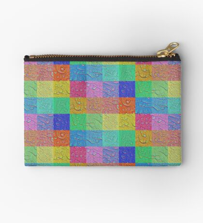 Deep Dreaming of a Color World Zipper Pouch