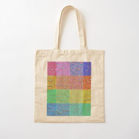 Deep Dreaming of a Color World Cotton Tote Bag