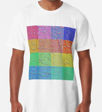 Deep Dreaming of a Color World Long T-Shirt