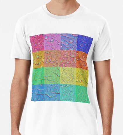 Deep Dreaming of a Color World Premium T-Shirt